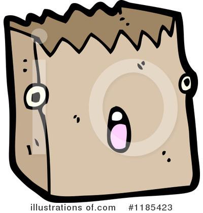Illustration by lineartestpilot royaltyfree. Bag clipart paper bag