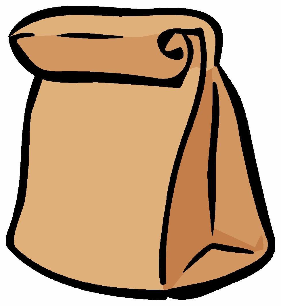 Lehigh greek community snack. Bag clipart paper bag