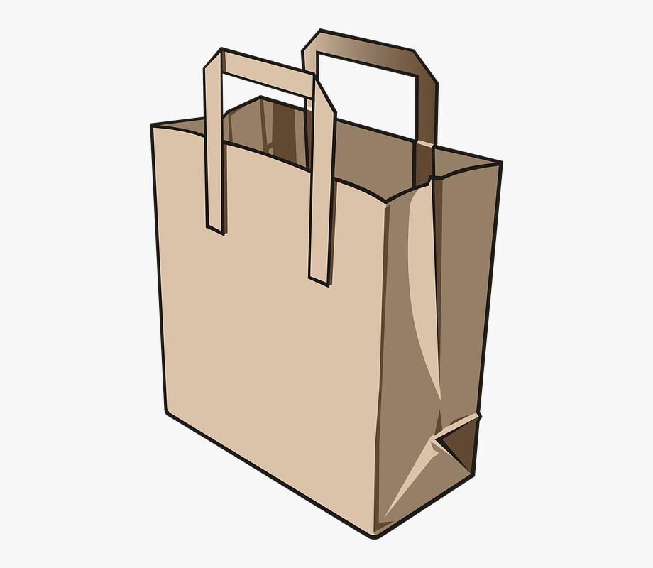 Bag clipart paper bag. Clip art bags transparent