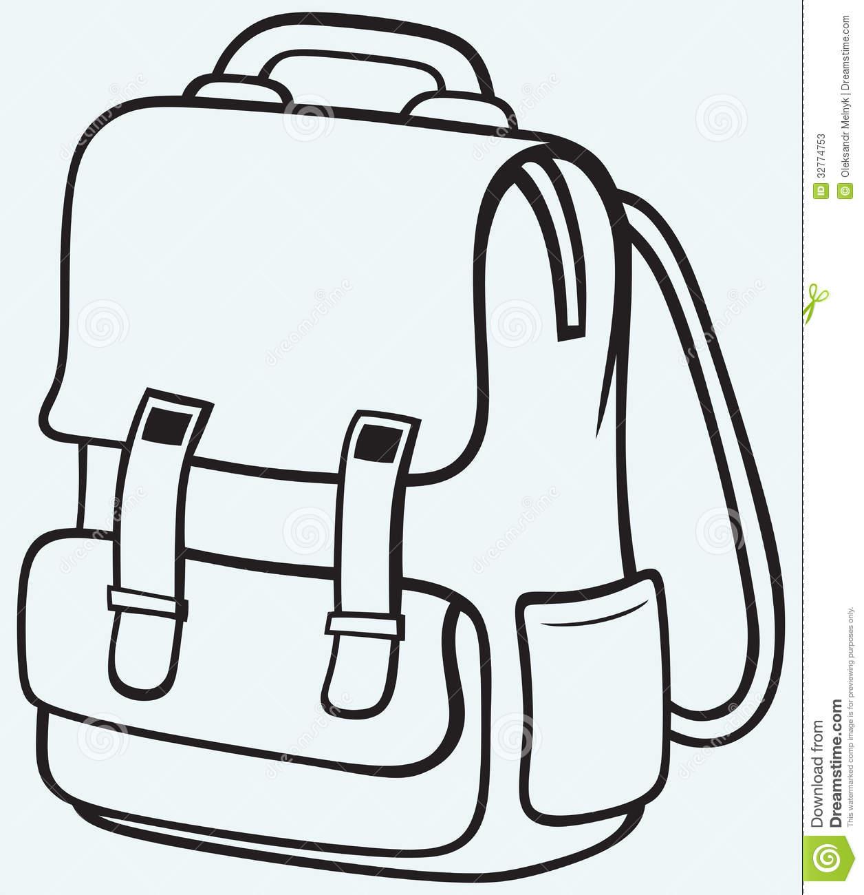 Bag clipart satchel. Panda free images satchelclipart