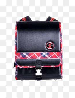 Cartoon green school backpack. Bag clipart satchel