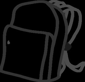 Backpack clip art at. Bag clipart satchel