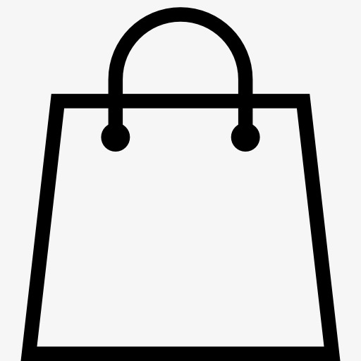Creative bags element png. Bag clipart shopping