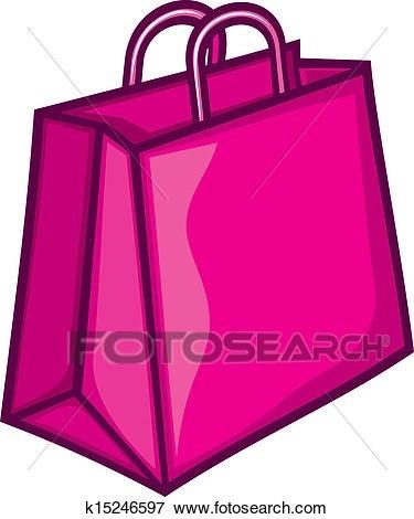 Bag clipart shopping. Pink animehana com clip