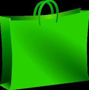 Bag clipart shopping. Green clip art at