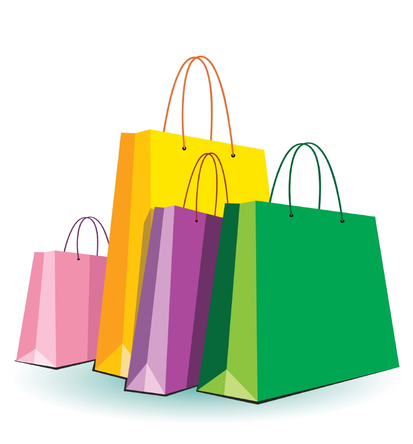 Bag clipart shopping. Free pictures of bags