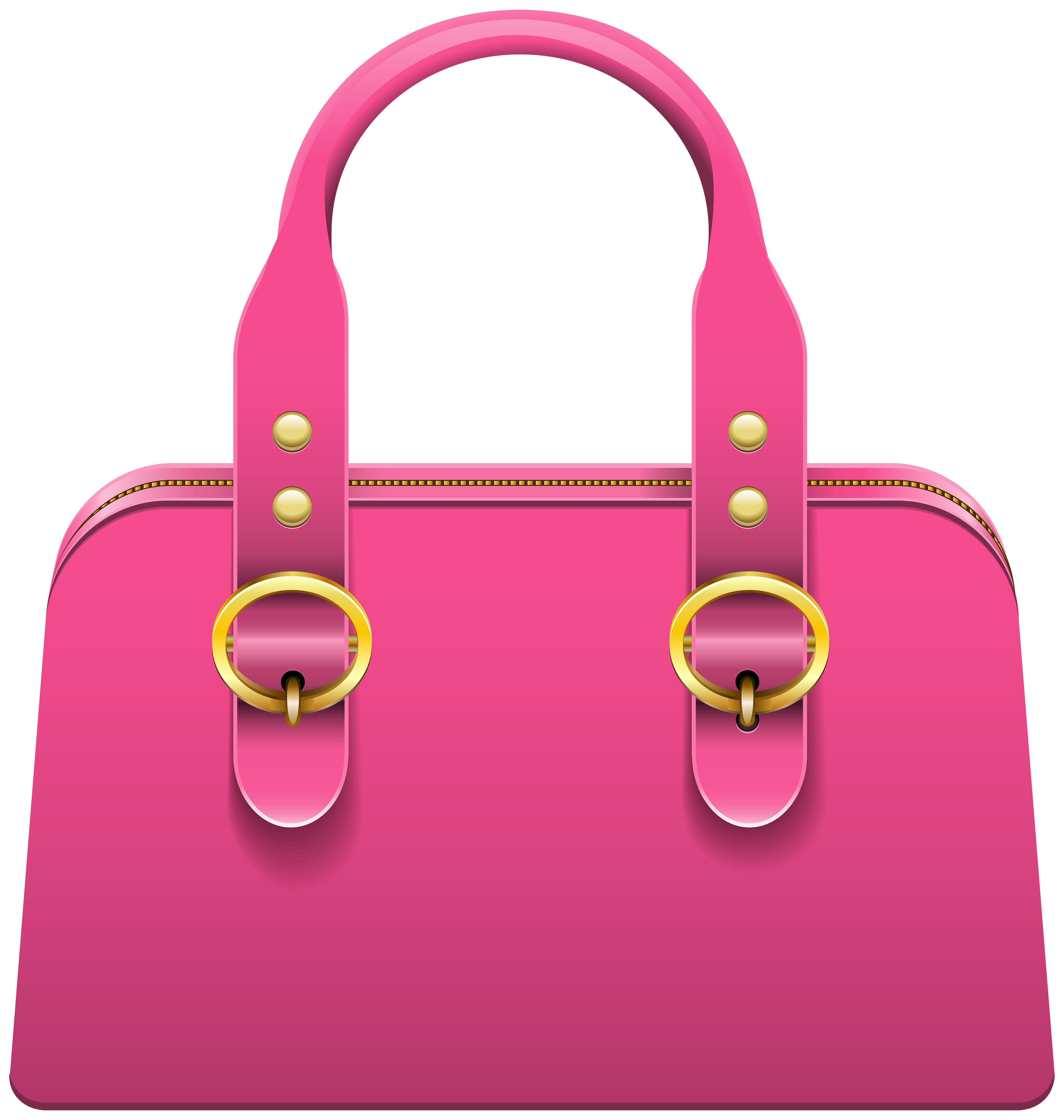 Instruments clipart pink. Handbag png clip art