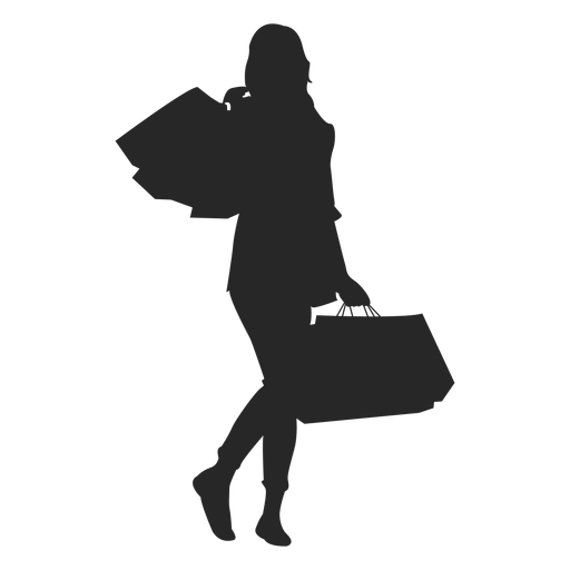 Black women at getdrawings. Bag clipart silhouette