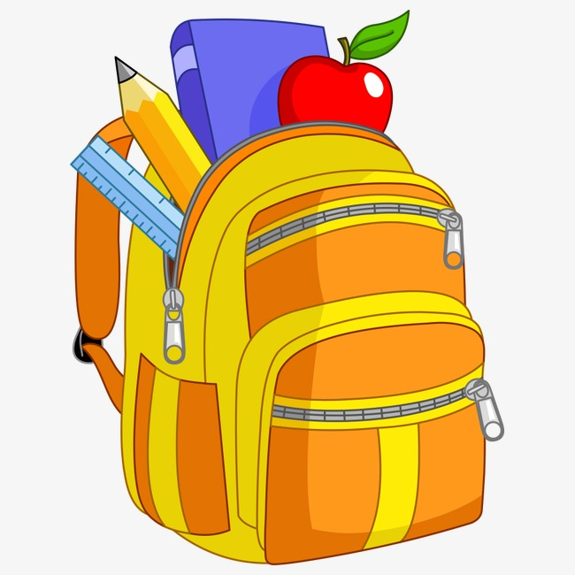Bag clipart student. School children bags png