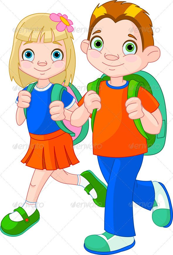 collection of school. Bag clipart student