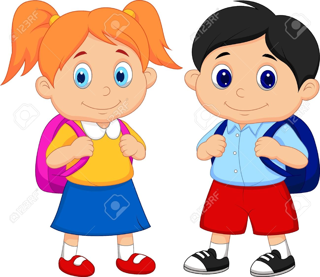 Bag clipart student. School with station