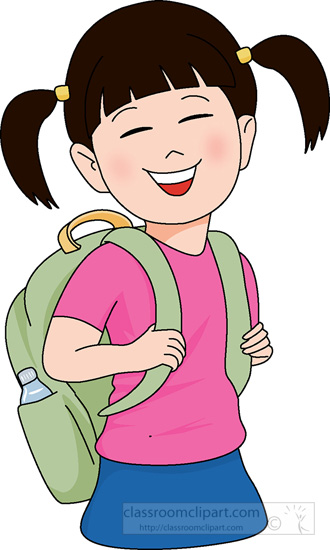 Bag clipart student. School with clip art