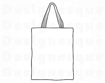 Bag clipart tote bag. Etsy