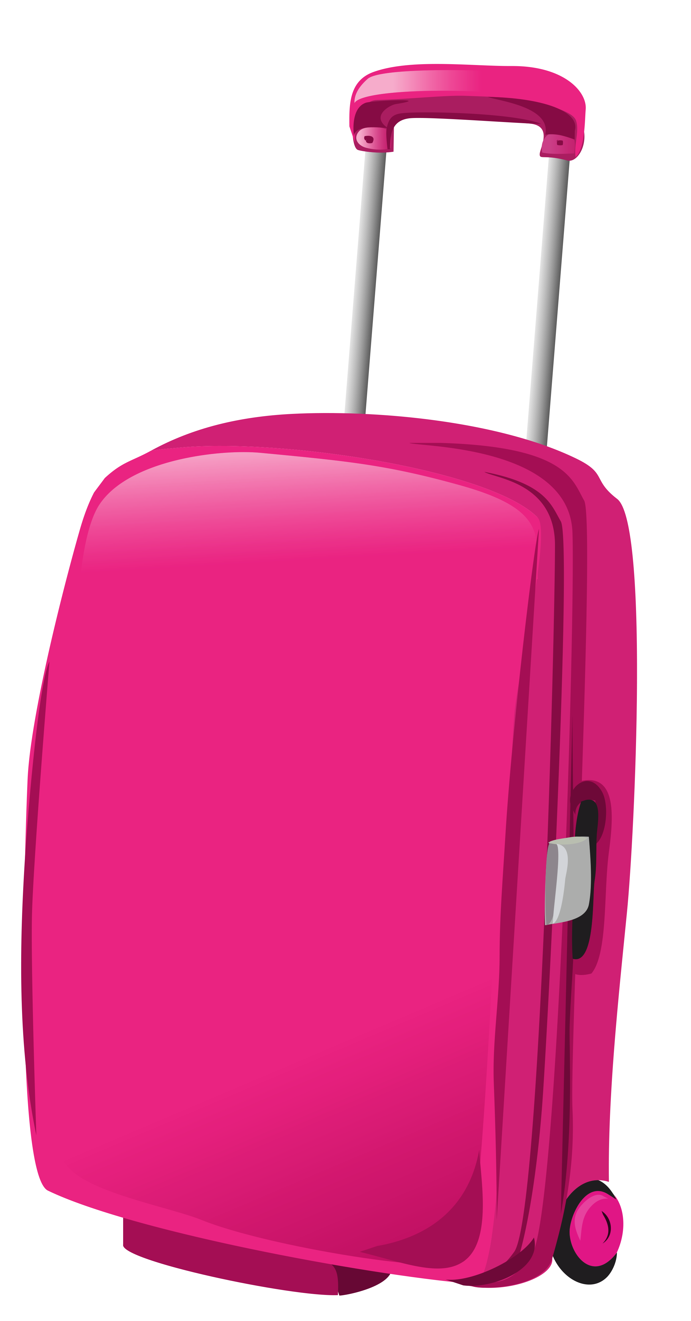 Pink png picture gallery. Bag clipart travel