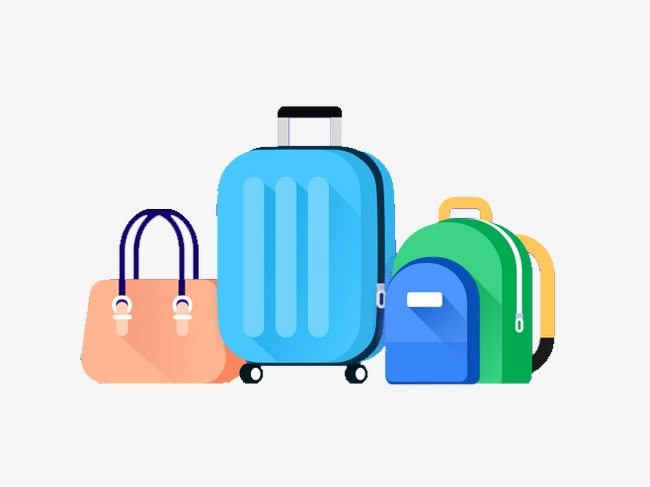 Portal . Bag clipart travel