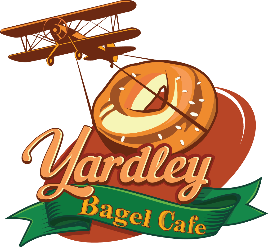 Clipart coffee bagels. Breakfast yardley bagel cafe