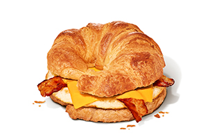 Bacon egg cheese dunkin. Bagel clipart bagette