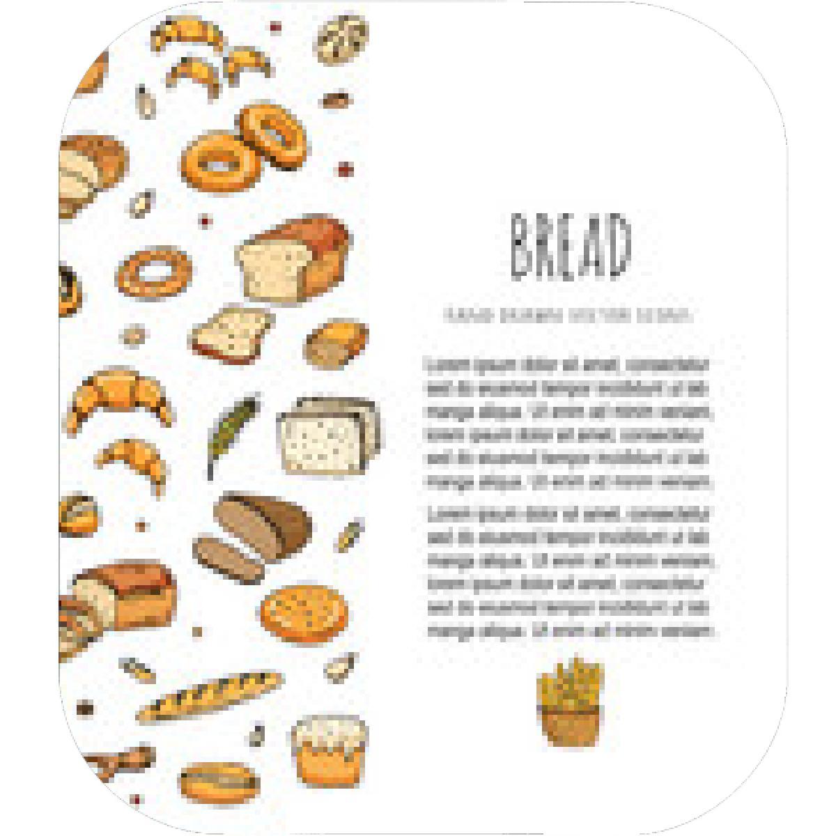 Bagel clipart bagette. Free baguette download clip