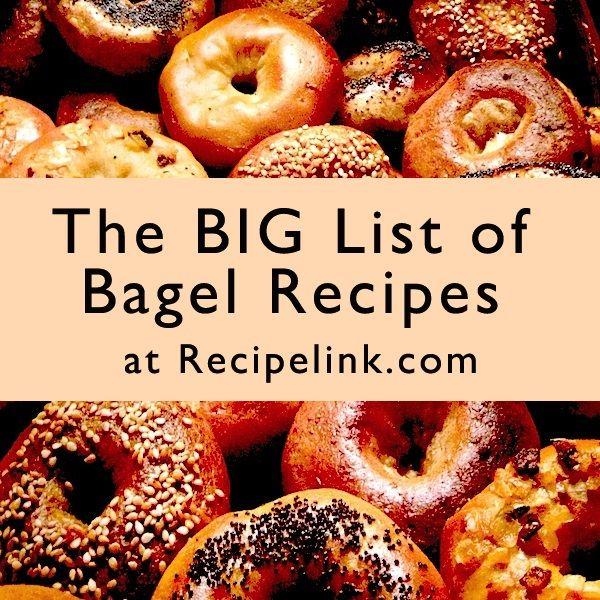 best baking recipes. Bagel clipart baked goods