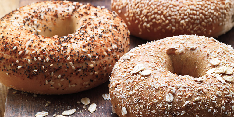 Bagels dunkin . Bagel clipart carbohydrates