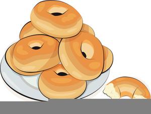Free bagels images at. Bagel clipart cartoon