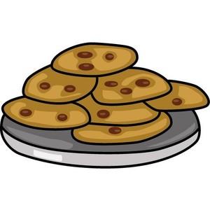 Cookie clip art panda. Baked goods clipart biscuit