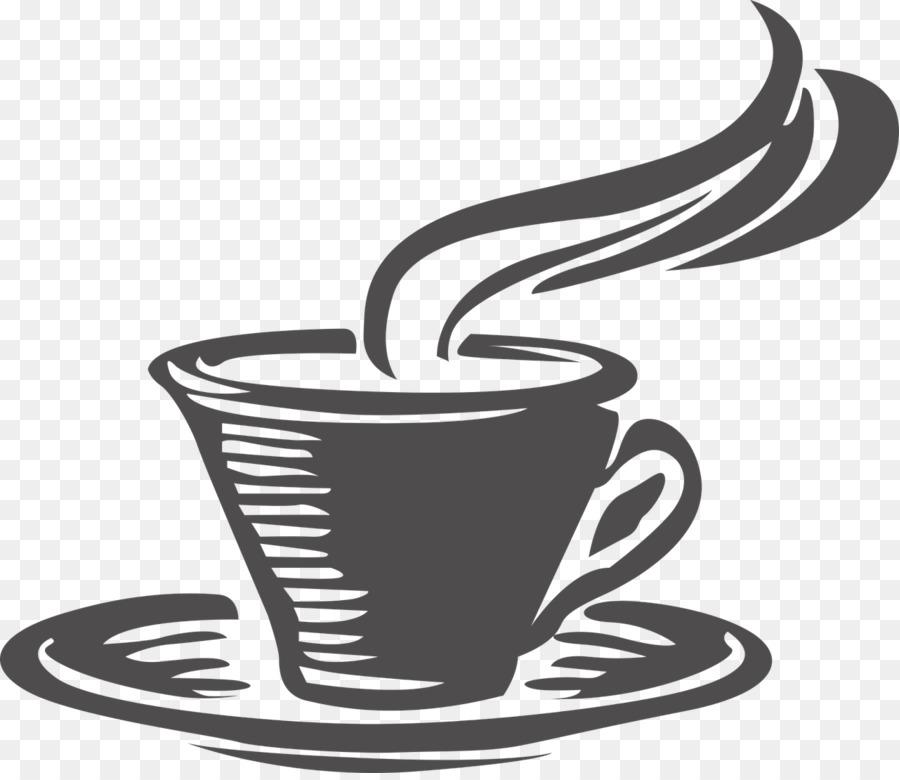 Cup tea cafe clip. Bagel clipart coffee bagel