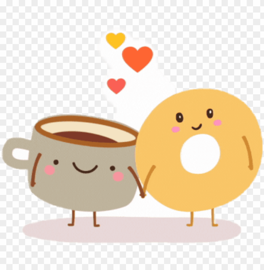 Bagels and png image. Bagel clipart coffee bagel