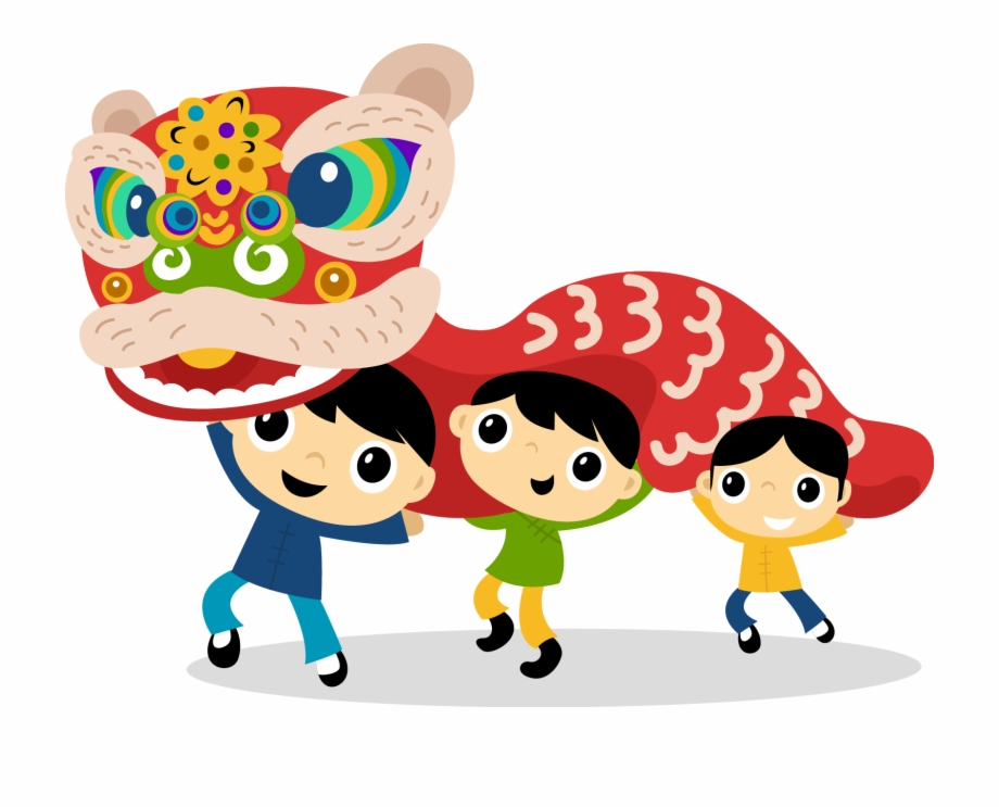 Bagel dancing chinese new. China clipart cute