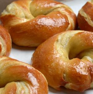 Bagel clipart danish pastry. Original rainbow bagels art