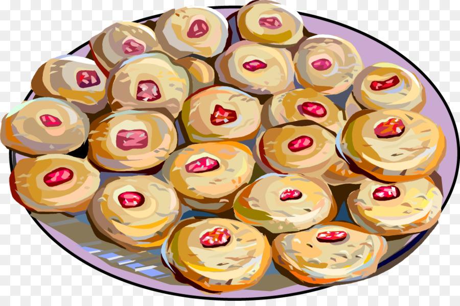 Doughnut danish pastry denmark. Breakfast clipart dessert