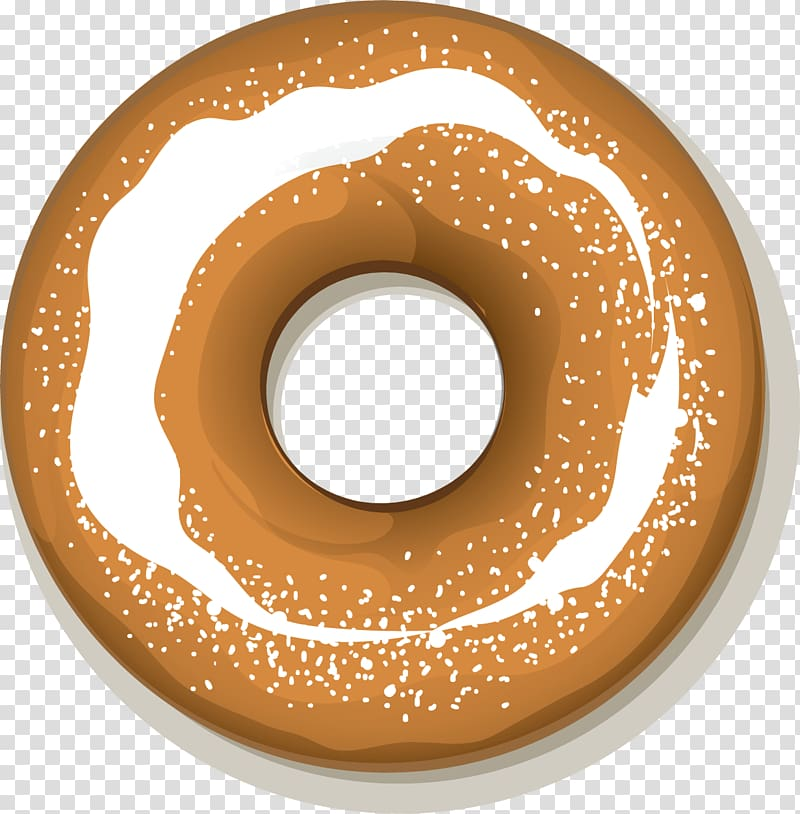 Doughnut icon cartoon transparent. Donut clipart bagel