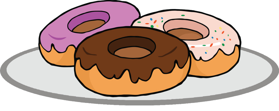 Coffee and doughnuts donuts. Donut clipart bagel