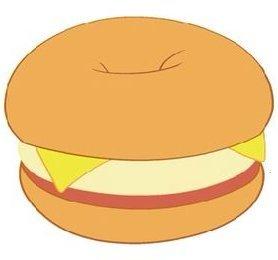 Steven universe sandwiches for. Bagel clipart egg