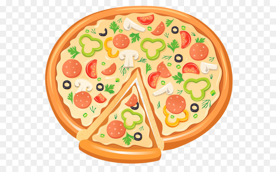 Bagel clipart yellow. Pizza delicatessen clip art