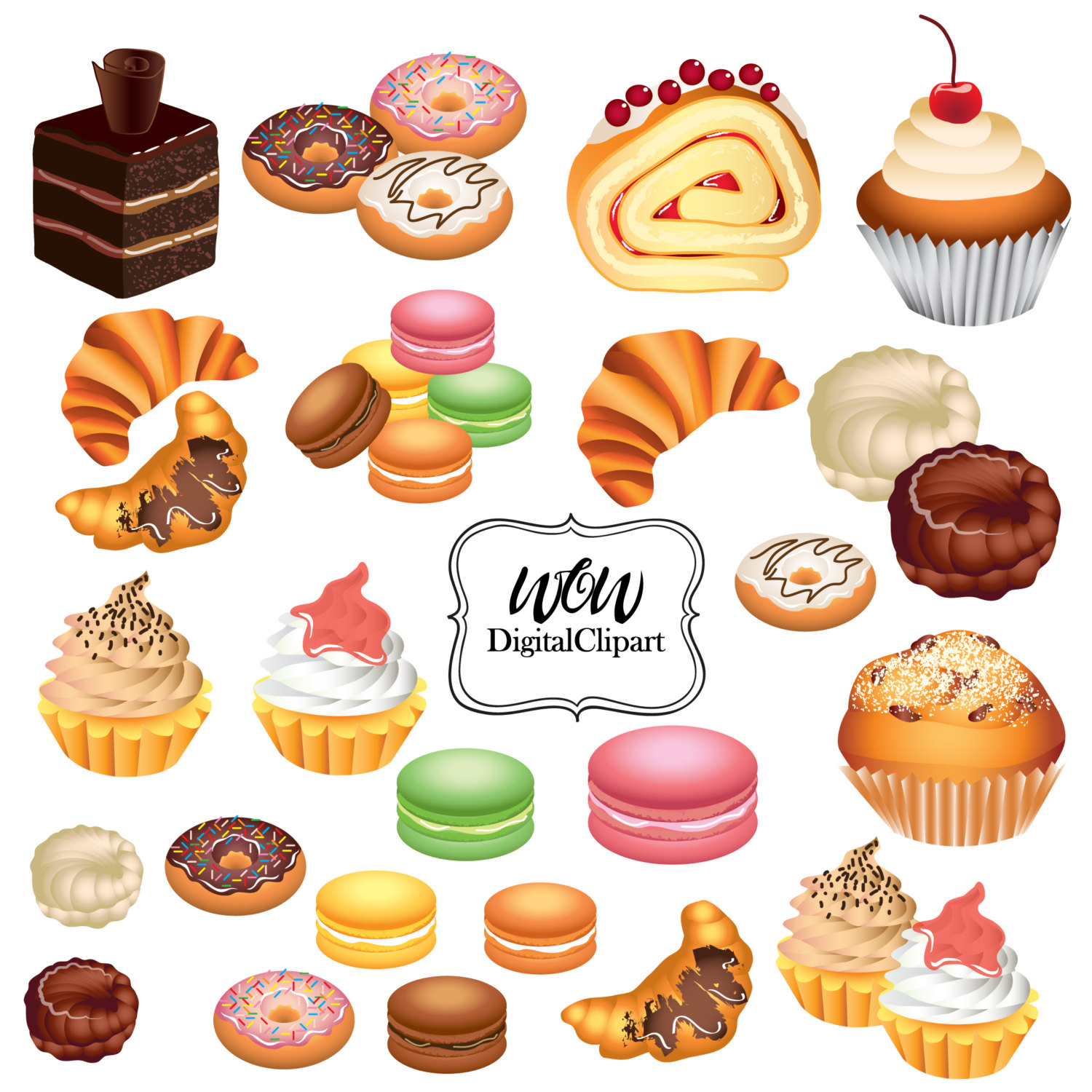 Bakery clipart bakery food. Free baking cliparts download