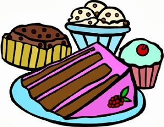 Cliparts goodies. Baked goods clipart baked product