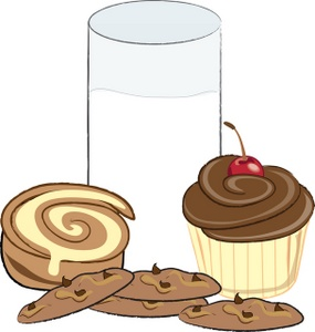 Baked goods clipart baked treat. Free sweets image food