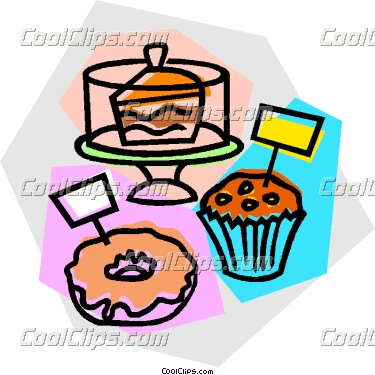 Baking clipart baked goods. For sale panda free