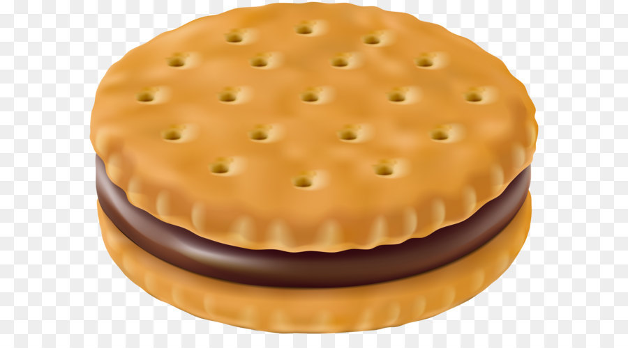 Chocolate sandwich torte chip. Baked goods clipart biscuit