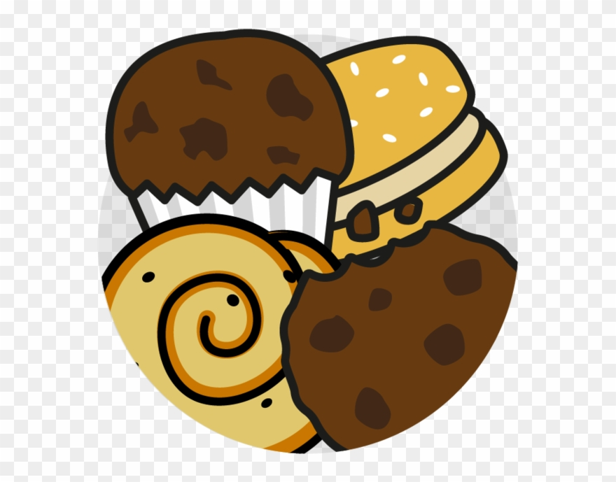 Buns cakes pastries and. Desserts clipart cake biscuit