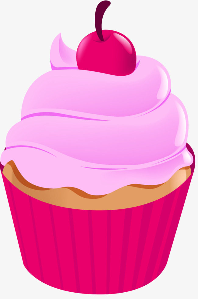 Purple cake violet png. Baked goods clipart cartoon