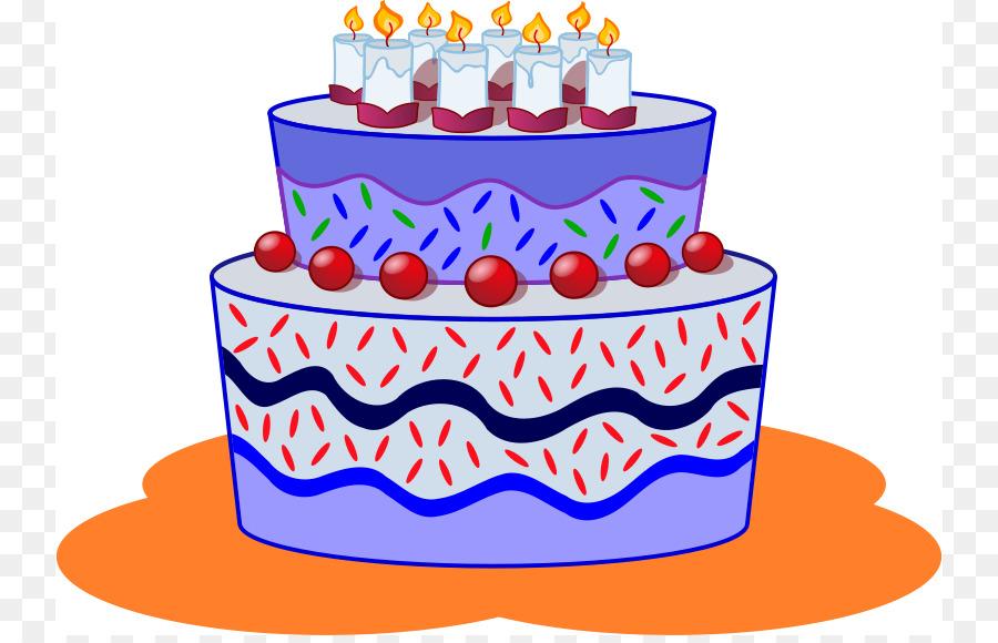 Baked goods clipart cartoon. Birthday cake clip art