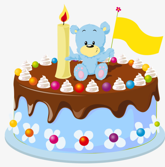 Baked goods clipart cartoon. Birthday cake food png