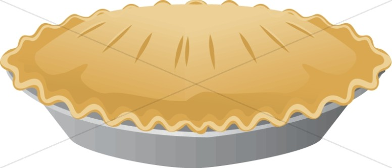Baked goods clipart church. Bake sale pie food