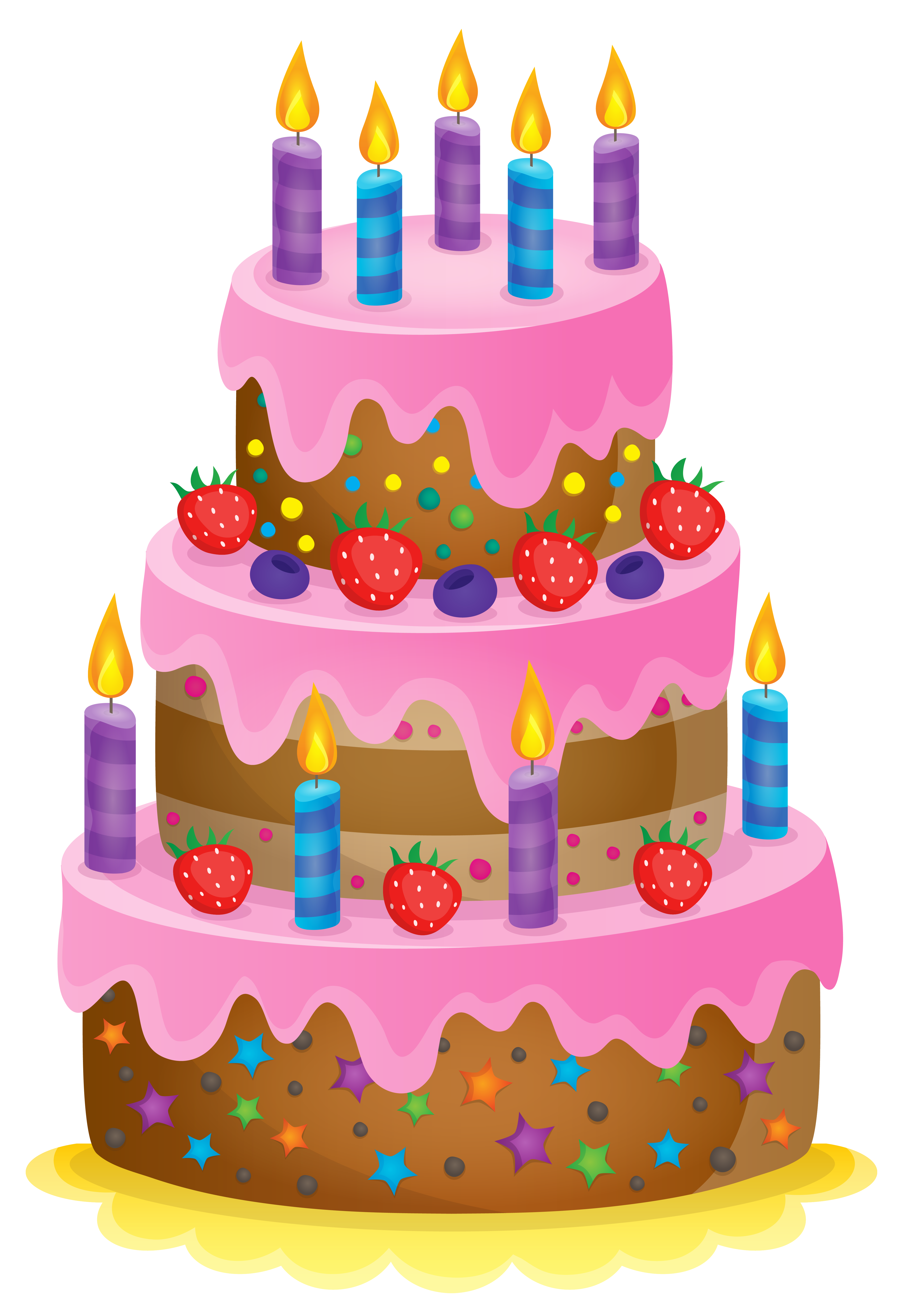 Snake clipart birthday. Cute cake png image