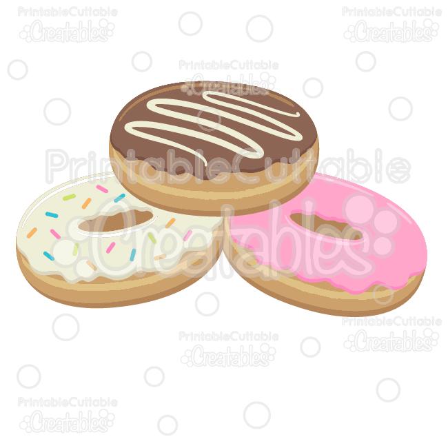 Donut cut file doughnut. Donuts clipart svg