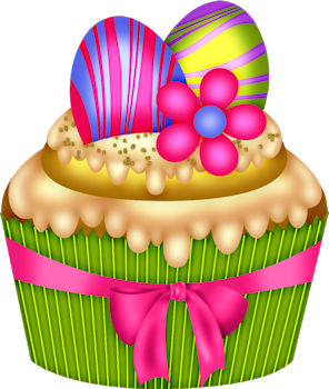 Baked goods clipart easter. Baking cup cake decorating