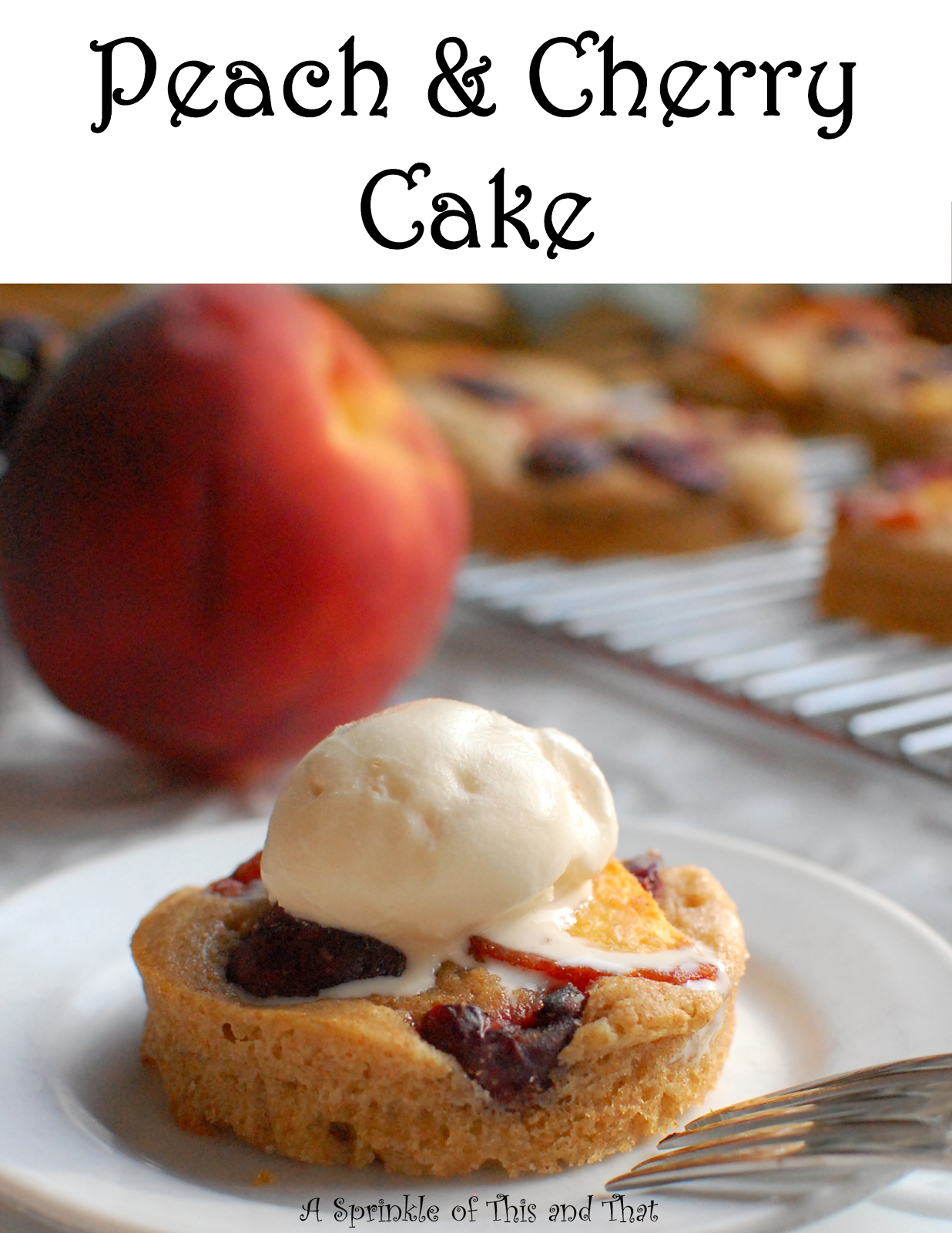 Baked goods clipart fruit cobbler. A sprinkle of this