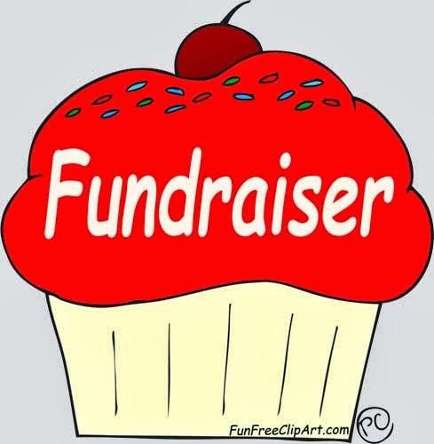 Cupcake bake sale fun. Fundraiser clipart cute